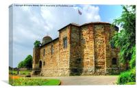 Colchester Castle, Canvas Print