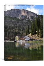 Lake Misurina, Canvas Print