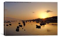 Sunrise St Pauls Bay, Canvas Print