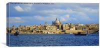 Valletta Malta, Canvas Print