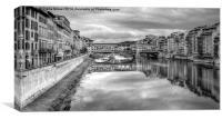 Ponte Vecchio, Canvas Print