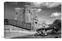 Rye Castle, Canvas Print