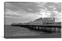 Brighton Pier  , Canvas Print
