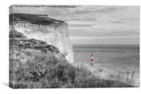 Beachy Head , Canvas Print