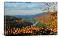 Symonds Yat Rock , Canvas Print