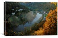 Symonds Yat East and West , Canvas Print