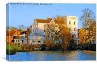 Sudbury Mill Suffolk , Canvas Print