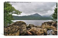 Loch  Lomond Scotland, Canvas Print