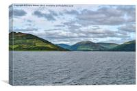 The Kyles of Bute , Canvas Print