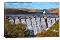 Craig Goch Reservoir, Canvas Print