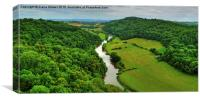 Symonds Yat , Canvas Print