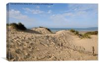 Camber Sands, Canvas Print