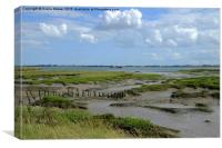 Tollesbury Marshes,  Essex , Canvas Print