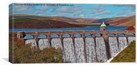 Craig Goch Reservoir , Canvas Print