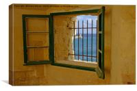 Fort Saint Elmo Valletta, Canvas Print