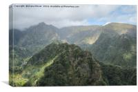 Balcoes Belvedere, Madeira , Canvas Print