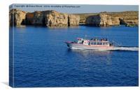 Comino Malta, Canvas Print