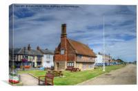 Aldeburgh Promenade, Canvas Print