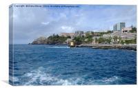 Funchal, Madeira, Canvas Print