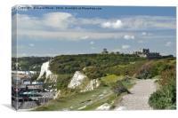 Dover Cliffs, Canvas Print