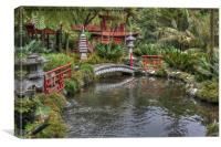 Japanese Garden Madeira, Canvas Print