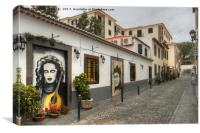 Old Town Funchal, Canvas Print