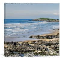 Fistral Beach Newquay, Canvas Print