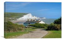 The Seven Sisters , Canvas Print