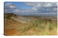 The Naze beach, Canvas Print