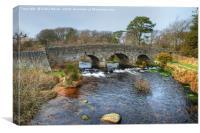 Postbridge, Dartmoor, Devon, Canvas Print