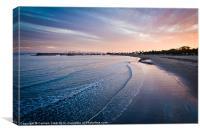 Santa Barbara Sunset, Canvas Print