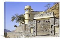 Gateway, Royal Kumbhalghar Palace Villas, Canvas Print