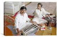 Hanumant Ghadge and Manoj Desai, Canvas Print