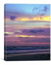 Incandescent Sunset, Canvas Print