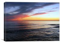 Glazed Sea, Canvas Print