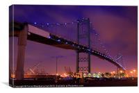 Thomas Vincent Bridge )Horizontal), Canvas Print