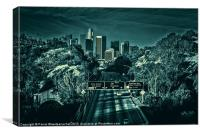 All Roads to L.A., Canvas Print