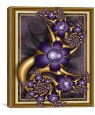 Precious Floral., Canvas Print