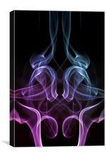 Smoke Photography #1, Canvas Print