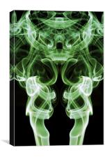 Smoke Photography #8, Canvas Print
