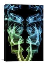 Smoke Photography #18, Canvas Print
