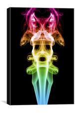 Smoke Photography #20, Canvas Print