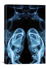 Smoke Photography #23, Canvas Print