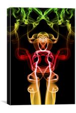 Smoke Photography #33, Canvas Print