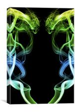 Smoke Photography #36, Canvas Print