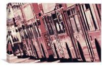 Bus Lane, Canvas Print