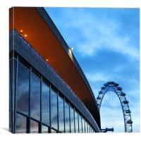 London Eye, Southbank, Canvas Print