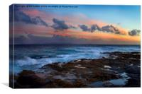 Dusk over the Atlantic, Canvas Print
