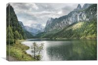 Gosausee, Canvas Print
