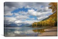 Glacier Lake, Canvas Print